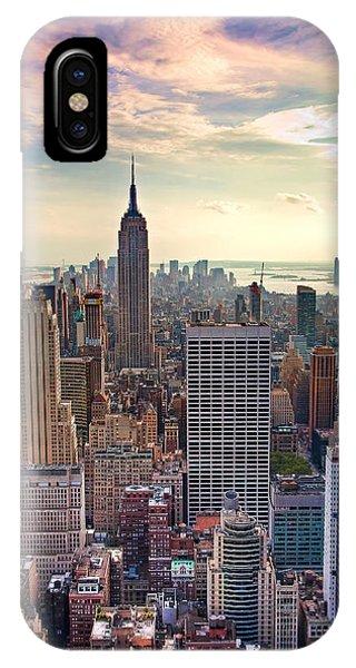 Manhattan New York City IPhone Case