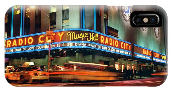 Rockettes iPhone Case - Manhattan, Radio City Music Hall, Nyc by Panoramic Images