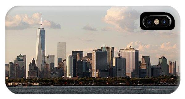 Manhattan Skyscrapers IPhone Case