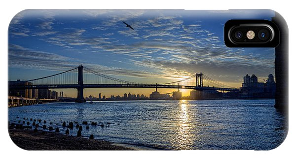 Manhattan Sunset IPhone Case