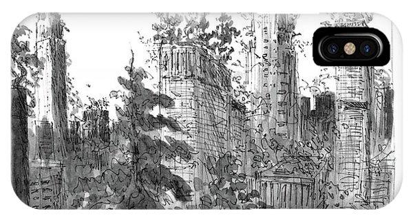 Manhattan Woods IPhone Case
