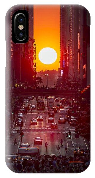 Manhattanhenge IPhone Case