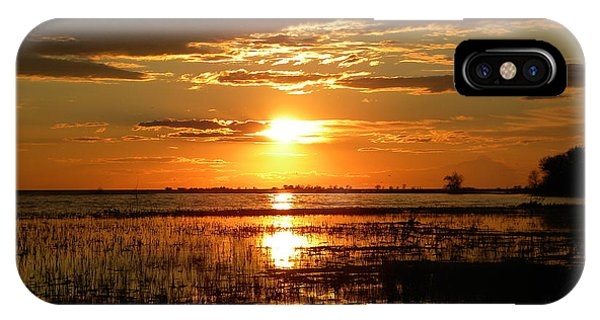 Manitoba Sunset IPhone Case