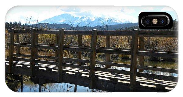 Lake Manitou Sp Woodland Park Co IPhone Case