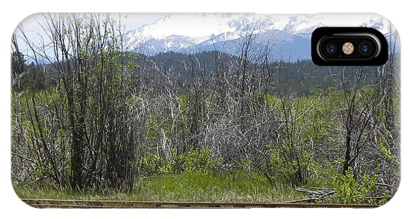 IPhone Case featuring the photograph Lake Manitou Sp Woodland Park Co by Margarethe Binkley