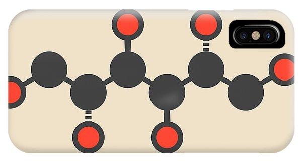 Mannitol Molecule Phone Case by Molekuul