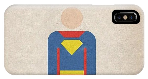 Superhero iPhone Case - #manofsteel #steel #man #superman #hero by Katie Ball