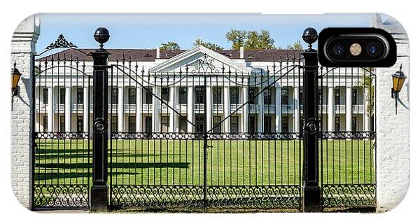 Manresa House Of Retreats In Convent Louisiana IPhone Case