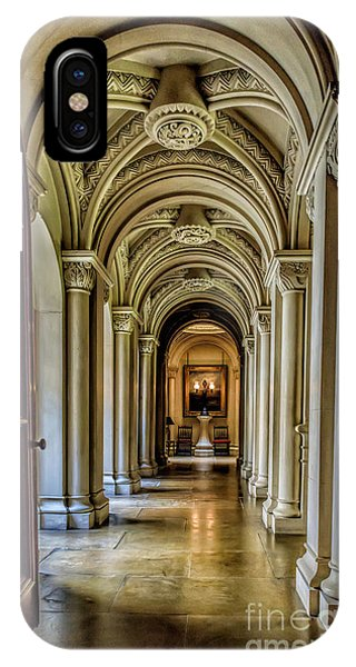 Mansion Hallway IPhone Case