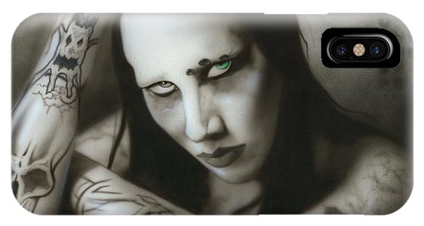 Manson IIi IPhone Case