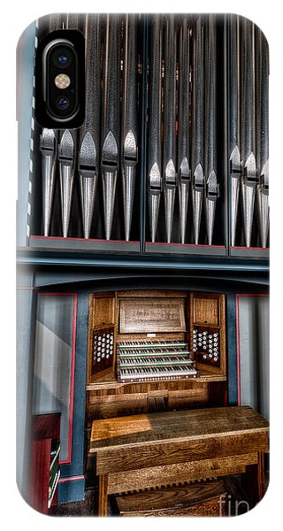 Organ iPhone Case - Manual Pipe Organ by Adrian Evans