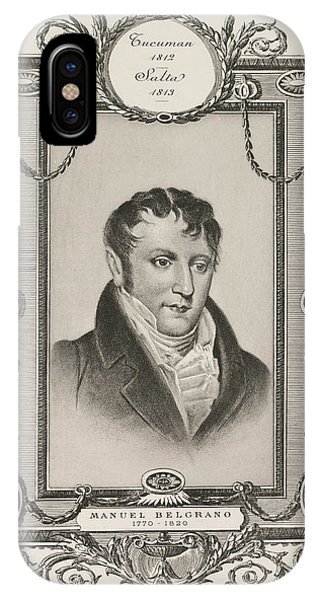 Manuel Belgrano IPhone Case