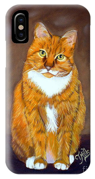 Manx Cat IPhone Case