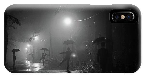 Umbrella iPhone Case - Many Myself by Takashi Suzuki
