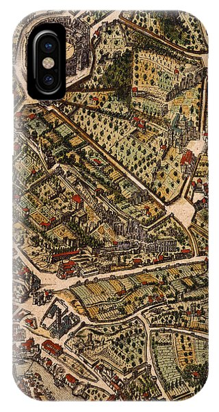 Map Of Rome IPhone Case