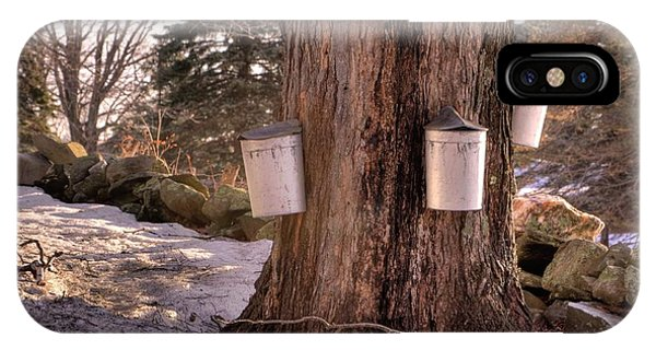 Maple Syrup Buckets IPhone Case
