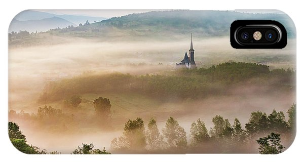 Mist iPhone Case - Maramures, A Fairy Land ! by Sorin Onisor