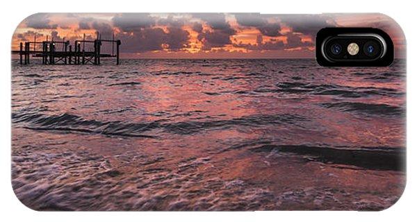 Marathon Key Sunrise Panoramic IPhone Case