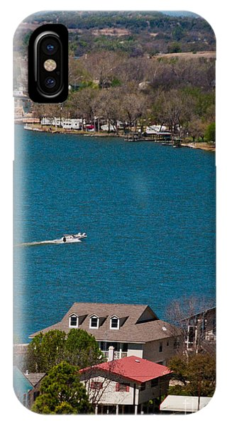 IPhone Case featuring the photograph Marble Falls Lake by Mae Wertz