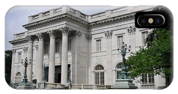 Marble House  --  Newport Rhode Island  IPhone Case