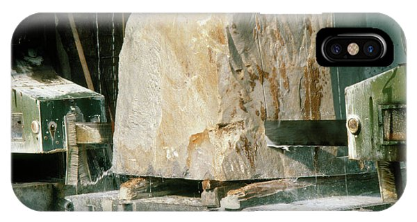 Marble Quarry At Fantiscritti Caves Phone Case by Sheila Terry/science Photo Library.
