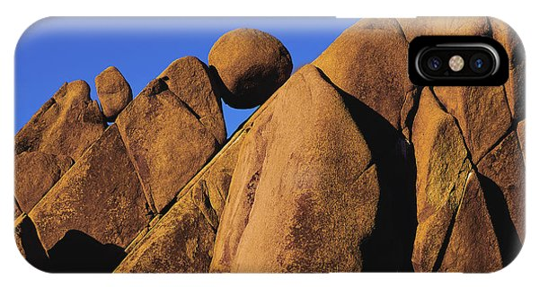 Marble Rock Formation Closeup IPhone Case