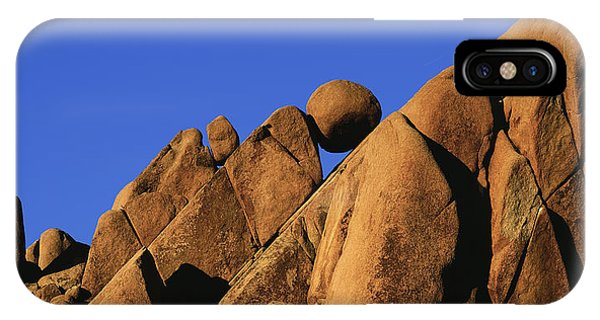 Marble Rock Formation Pano IPhone Case