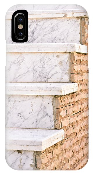 Cement iPhone Case - Marble Steps by Tom Gowanlock
