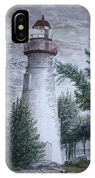 Marblehead Lighthouse Phone Case by Frank Evans