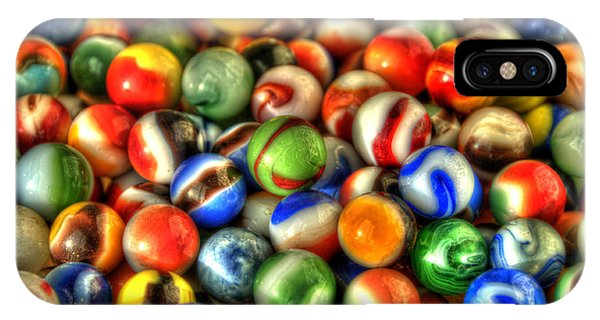 Marbles 1 IPhone Case