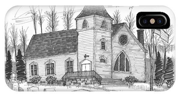 Marbletown Church IPhone Case