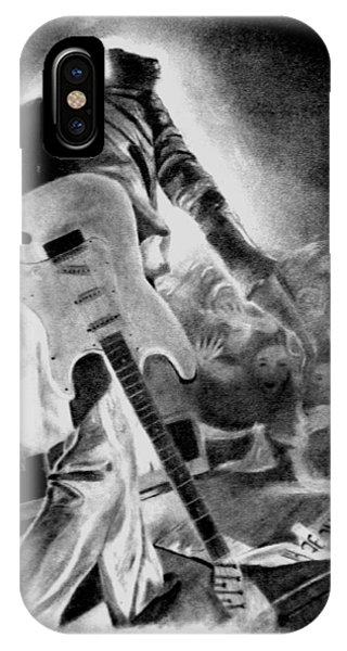 Marc Bolan On Stage IPhone Case