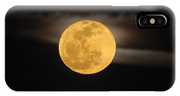 March Full Moon IPhone Case
