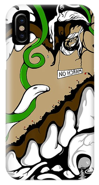March On IPhone Case