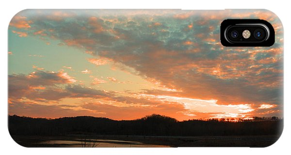 March Sunset With Signature IPhone Case