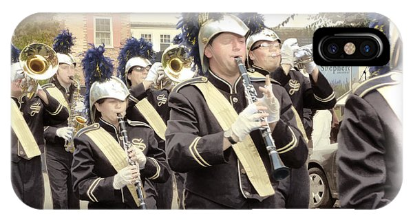 Marching Band - Shepherd University Ram Band At Homecoming 2012 IPhone Case