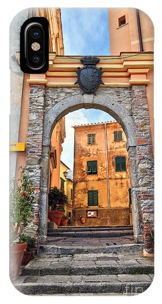 Marciana - Ancient Gate IPhone Case