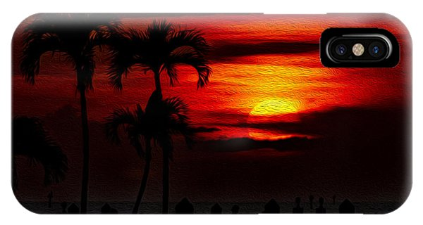 IPhone Case featuring the photograph Marco Island Sunset 59 by Mark Myhaver
