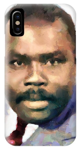 Marcus Garvey IPhone Case