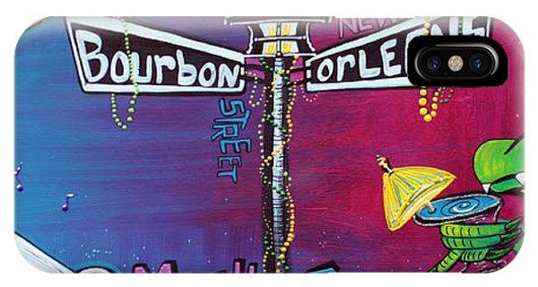 Voodoo iPhone Case - Mardi Gras Celebration by Laura Barbosa
