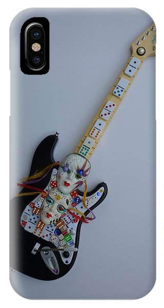 Mardi Gras Guitar IPhone Case