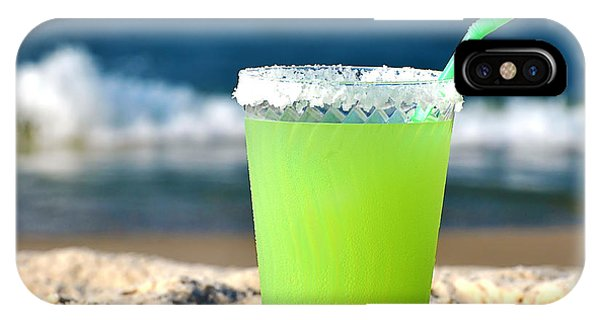 Margarita On The Beach IPhone Case