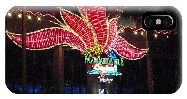 Margaritaville Las Vegas Nevada IPhone Case