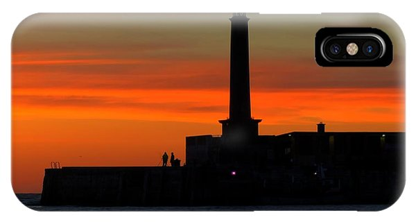 Margate Pier Sunset IPhone Case