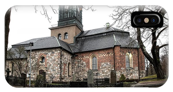 Maria Church Enkoeping From South Leif Sohlman IPhone Case