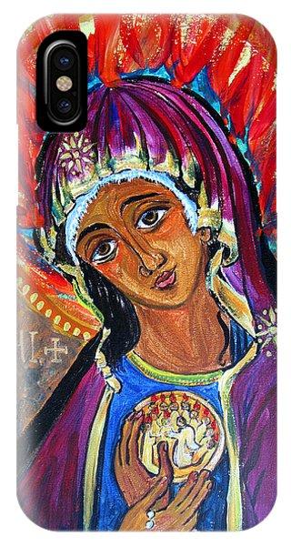 Maria Of Pentecost IPhone Case