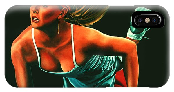 Maria Sharapova  IPhone Case