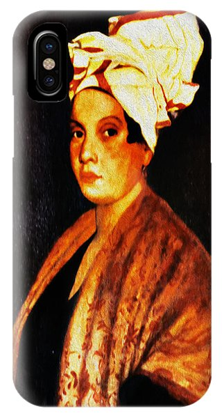 iPhone Case - Marie Laveau - New Orleans Witch by Digital Reproductions