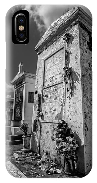 Marie Laveau's Tomb 2 IPhone Case