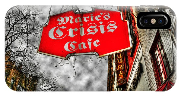 Gloomy iPhone Case - Marie's Crisis Cafe by Randy Aveille